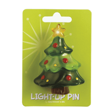 Lighted LED Tree Pin