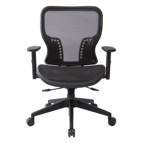 Dark Air Grid Seat and Back Executive Chair