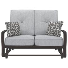 Castle Island Loveseat Glider With Cushion