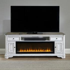 82 Inch Fireplace TV Console