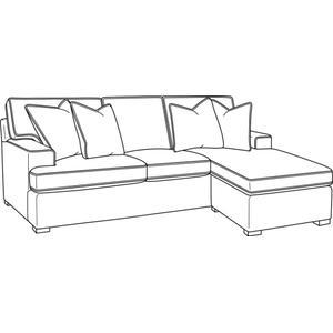 Bridgetown Sofa with Reversible Ottoman