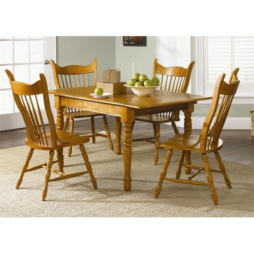 Liberty Furniture Industries - Optional 5 Piece Butterfly Leaf Set