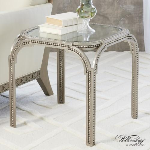 Forged Pearl Side Table