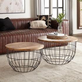 Nesting Caged Accent Tables