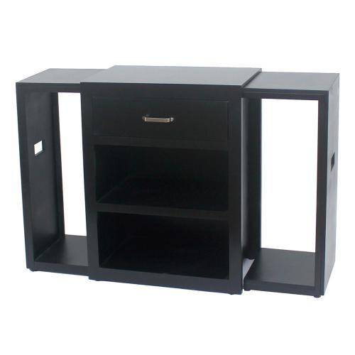 Crestview Collections - Side Table w/ 2 tray tables