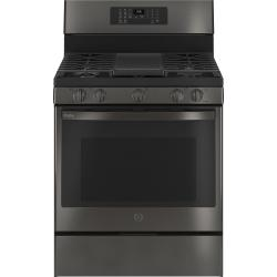 """GE Profile™ Smart 30"""" Free-Standing Self Clean Gas Range with No Preheat Air Fry"""