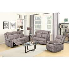 SU-GL-U9077 Collection  3 Piece Manual Reclining Living Room Set Sofa  Loveseat  Push Back Recliner Chair