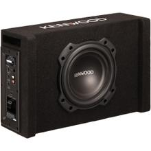 8-Inch 400-Watt Oversized Powered Subwoofer in Vented Enclosure