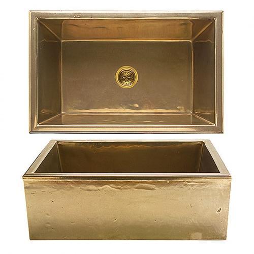 Alturas Apron Front Sink - KS3120 Silicon Bronze Rust