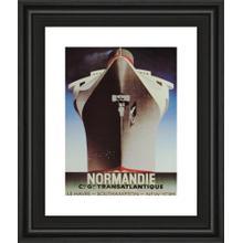 """Normandie"" Framed Print Wall Art"