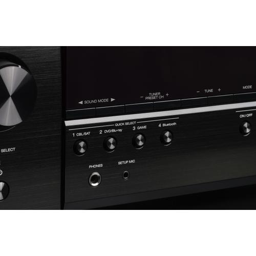5.2 Ch. 4K Ultra HD AV Receiver with Bluetooth and Dolby Vision