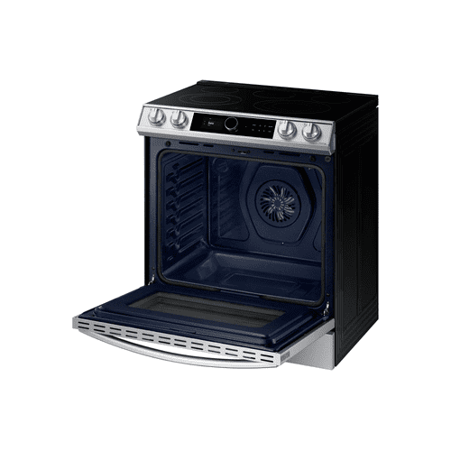 6.3 cu.ft. Electric Range with with True Convection and Air Fry in Stainless Steel