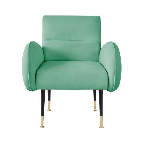 Babe Mint Green Velvet Chair