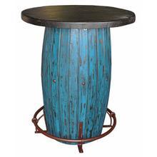 Turq Scraped Barrel Bar