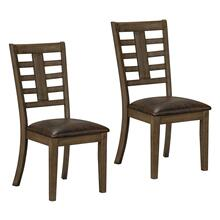 Canaan Brown 2-Pack Side Chair
