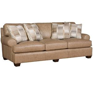 King Hickory - Henson Leather Sofa