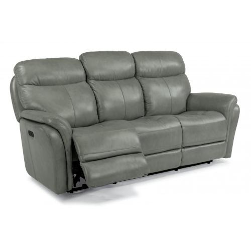 Zoey Leather Power Reclining with Power Headrests