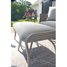 See Details - All Seasons Settee Ottoman with Padded Seat