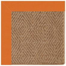 "Islamorada-Diamond Canvas Tangerine - Rectangle - 24"" x 36"""