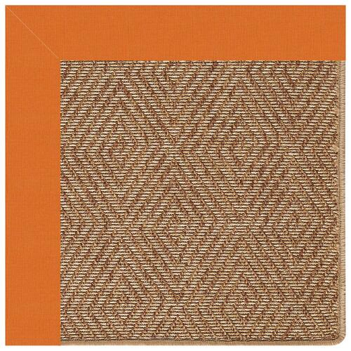 "Islamorada-Diamond Canvas Tangerine - Rectangle - 24"" x 36"""