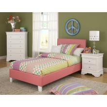 See Details - Youth PVC Bed : Sheri Youth Upholstered Bed