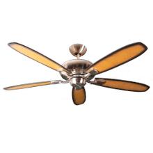 52' 5-Blade Upgrade Ceiling Fan NK - Charred Pecan/Walnut Blades