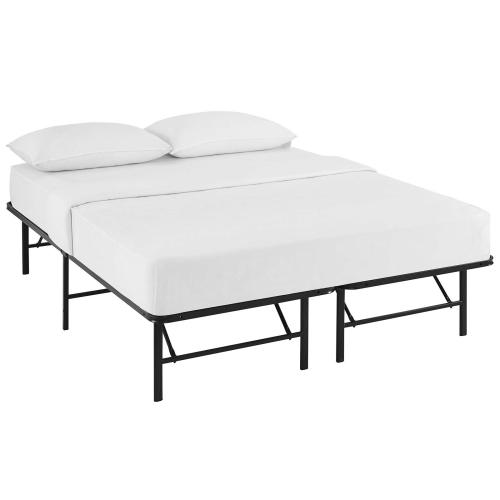 Modway - Horizon Full Stainless Steel Bed Frame in Brown