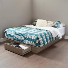 Platform Bed with Drawer - 54''/60''