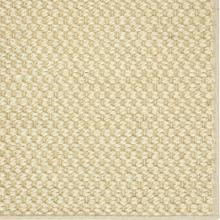 See Details - Double Weave Jute White Pepper 12'x15' / Leather Border