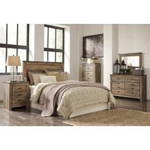 View Product - Queen Panel Headboard With Dresser
