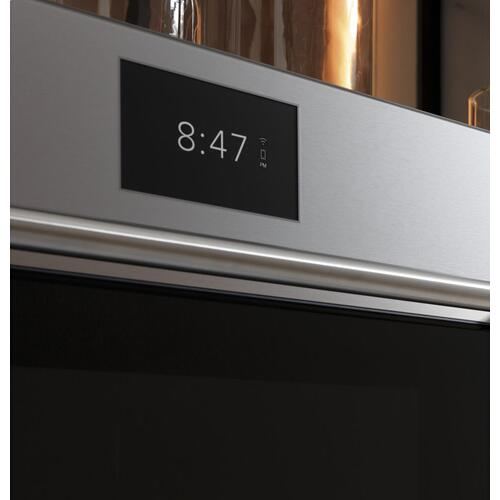 "OUT OF BOX Cafe 30"" Smart Five in One Oven with 120V Advantium ® Technology in Platinum Glass"