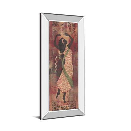 "Classy Art - ""Graceful Reflection I"" By Maria Donovan Mirror Framed Print Wall Art"