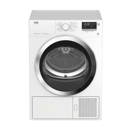 """Beko - 24"""" Front-Load Heat Pump Ventless Dryer"""