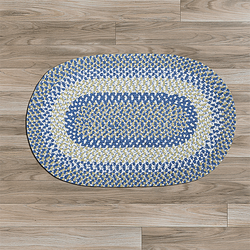 Blokburst Rug BK59 Blueberry Pie 8' X 8'