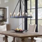 Marlow, 8 Lt Rectangle Chandelier Product Image