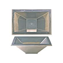 Quadra Sink - SK422 Silicon Bronze Rust