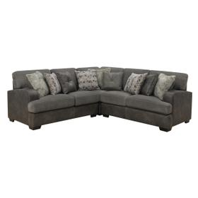 Berlin 3pc Lsf Loveseat-corner Chair- Rsf Loveseat W/9 Pilllows