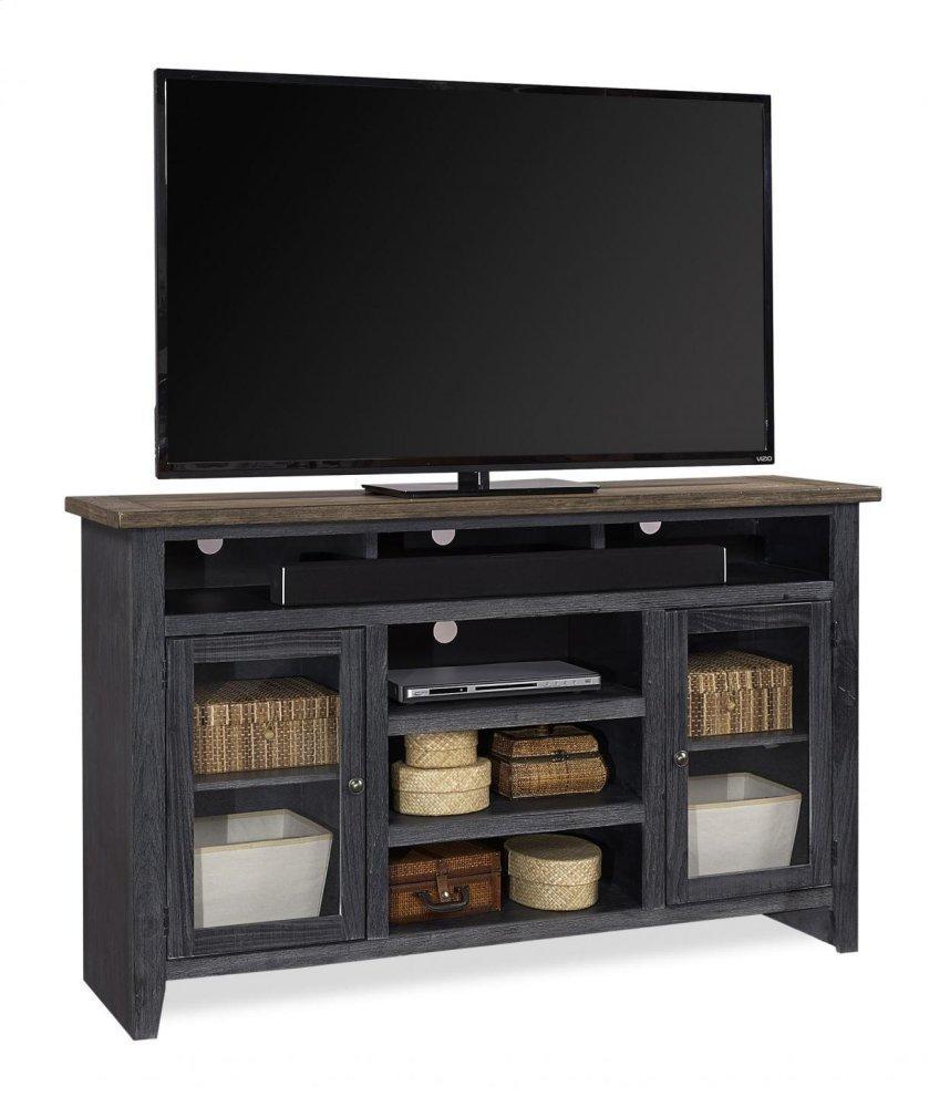 "Aspen Furniture65"" Highboy Console W/ 2 Doors"