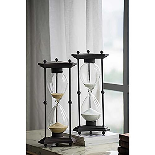 Hourglass with Iron Stand