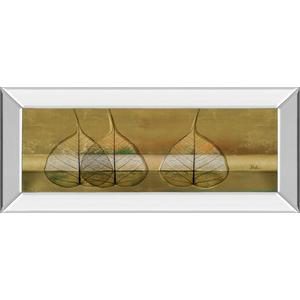 """Less Is More IV"" By Patricia Pinto Mirror Framed Print Wall Art"