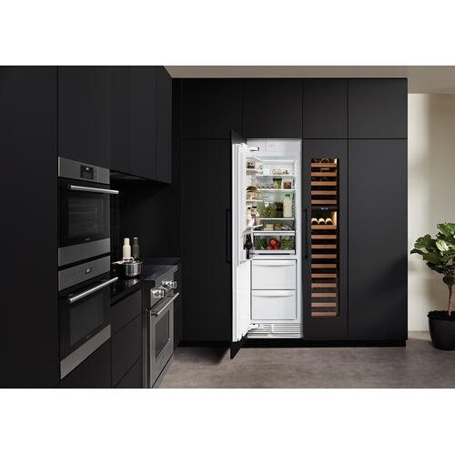 "24"" Designer Column Refrigerator/Freezer - Panel Ready"