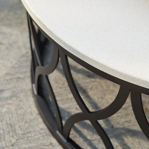 Bassett Furniture - Haley Round Cocktail Table