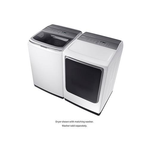 7.4 cu. ft. Electric Dryer with Integrated Touch Controls in White