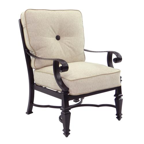 Castelle - Bellagio Cushioned Dining Chair