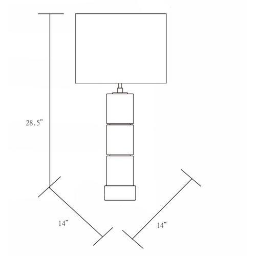 "Product Image - Janessa JNS-002 29""H x 14""W x 14""D"