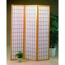 See Details - 3 Panel Natrual Oriental Shoji Screen / Room Divider