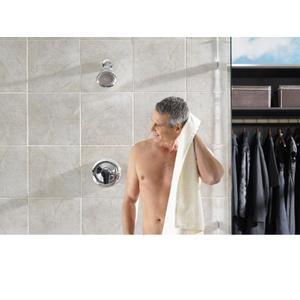 Method chrome posi-temp® shower only