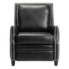 Buddy Leather Recliner - Black