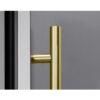 Contemporary Handle in Brushed Gold