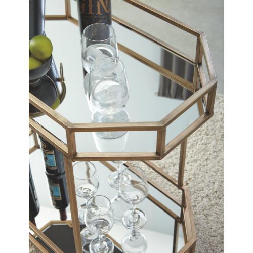 Signature Design By Ashley - Daymont Bar Cart